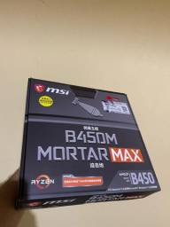 Placa mãe MSI B450M MORTAR MAX AM4