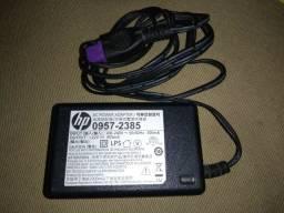 Fonte Para Impressora Hp - 22v / 455ma Plug Roxo