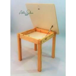 Título do anúncio: Cadeira e mesa infantil