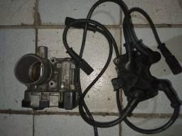 Corpo de injeção, bobina e cabos Strada 2015 1.4