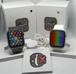 Título do anúncio: Smartwatch W46 Tela infinita Original Bluetooth Android IOS
