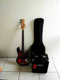 Baixo Vintage + amplificador