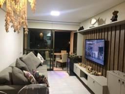 Apartamento com 72m² - Mobiliado no La Fleur de Polinesia - alto padrão e luxo