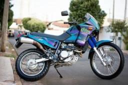 Título do anúncio: Moto de Colecionador! Honda NX 350 Sahara Ano 1998 Baixíssima Km Linda! Sul de MG!