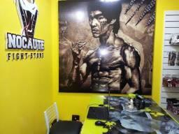 Título do anúncio: Quadro Poster Gigante do Bruce Lee