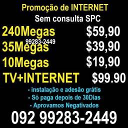 Internet internet fibra optica