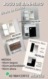 Título do anúncio: KITS de Banheiro COMPLETO Espelho Cuba Balcão Entregamos com taxa