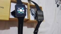 Relógio celular smartwatch chip cartão de memória câmera Bluetooth etc