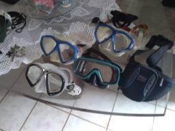 Máscara mergulho