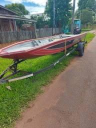 Título do anúncio: Kit barco calaça caretinha motor mercury