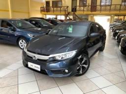 Civic EX 2.0 Aut. CVT azul completo impecável