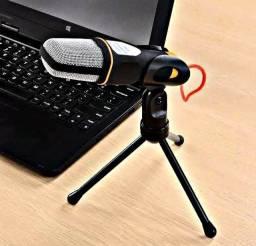 Título do anúncio: Microfone Condensador para Celular e Computador (Entrega gratis)