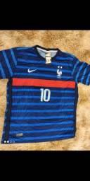 Título do anúncio: Camisas de time primeira linha poliéster