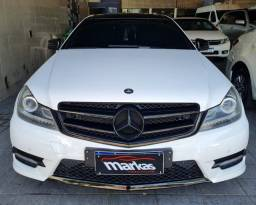 Título do anúncio: Mercedes c180 cgi 1.6 turbo coupe 2013 top de linha 54mil km