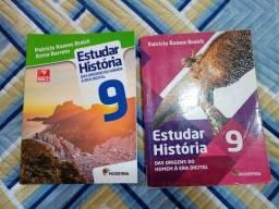 Livros de História- 9° ANO- NOVO