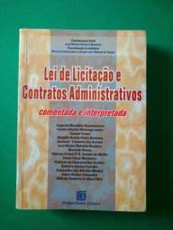 Livro Lei de Licitação e Contratos Administrativos