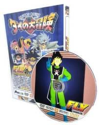 Box Dvd Fly O Pequeno Guerreiro Completo Dublado Completo