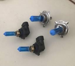 Lâmpada H4 e HB4 (9006) 8500k 55w Techone