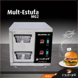 Estufa Mantenedora de Proteinas - Profissional Mult-Grill Express do Brasil®?