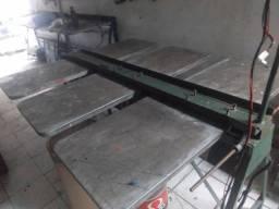Mesa de serigrafia e prensa termica