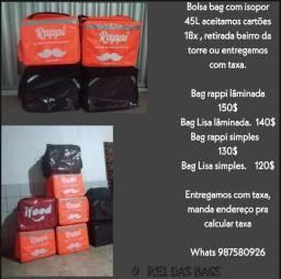 Motoboy bags mochila novas com isopor entregamos todo Pernambuco