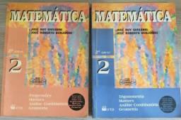 2 Livros de Matemática - 2º Grau - Giovanni e Bonjorno