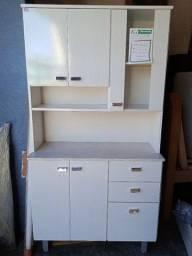 Armário para cozinha 6 portas e 2 gavetas
