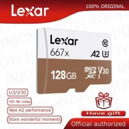 Cartão De Memória Lexar Pro Micro Sdxc 128gb 100/90mb V30 A2 MicroSDXC