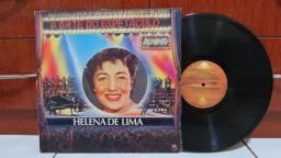 Lp Disco de Vinil Helena De Lima - A Arte Do Espetáculo Ao Vivo