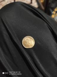 Vendo moeda de ouro 3 gramas