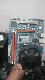 Palaca mãe ddr3 com processador