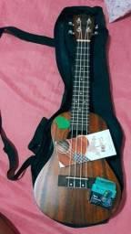 Título do anúncio: Kit ukulele (ukulele,capa,afinador e 2 palhetas