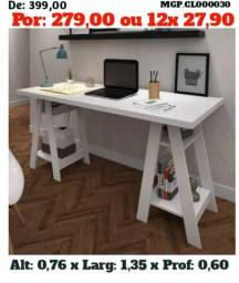Escrivaninha de Estudo- Mesa de Estudo- Escritorio- Promoção MS