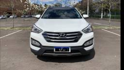 Título do anúncio: Hyundai Santa Fe 3.3 V6 AWD 7 lugares 2015/2016 - Cor Branco 71.000 KM