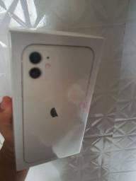 Iphone 11 de 128gb branco lacrado