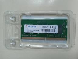 Memória Ram 4GB ddr4 Adata - para notebook