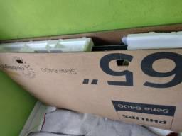 """Smartv Philips 65 """" tela quebrada"""