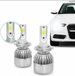 Lâmpada Super LED Automotiva 7.200 Lúmens e Coloração 6000K Super Branca