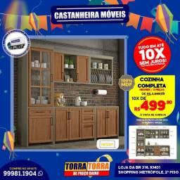 Cozinha Completa 5 peças, 10x  de R$ 499,90, sem Juros!!
