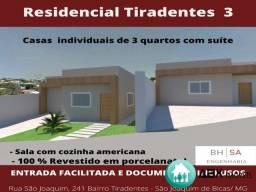 Título do anúncio: CASA RESIDENCIAL em SÃO JOAQUIM DE BICAS - MG, TIRADENTES