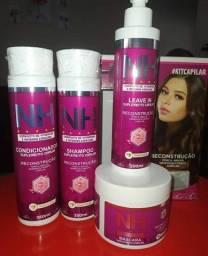 Kit NH  ( Shampoo, Condicionador, Leave in, Máscara e Tônico Capilar)
