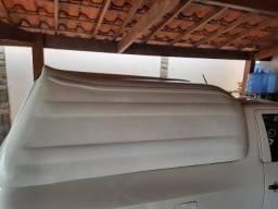 Capota de fibra para saveiro