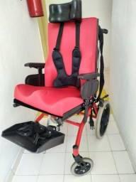 Cadeira de rodas postural infanto-juvenil Conforma Tilt reclinável Ortobras