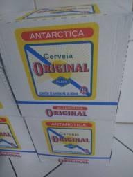 Cerveja antártica cx com 12 unidades de 600ml