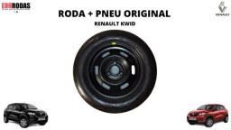 Roda + Pneu Original Renault Kwid ( R:14 F:3x100 )