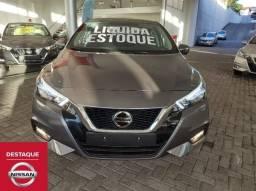 Nissan Versa Exclusive 0km 2022 Cinza
