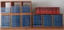 """Coleção completa de CDs """" Os Grande Classicos + 4 livros """""""