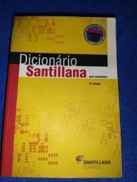 Título do anúncio: Dicionário Santillana Espanhol Português