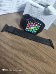 Título do anúncio: Smartwatch IWO W46+ pulseira de metal