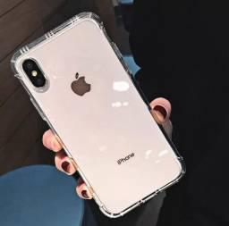 Case / Capinha Transparente iPhone XS Max Clear Case (Aceito cartão)